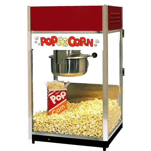 second popcorn machine